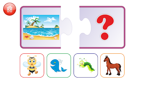 Download First puzzles for kids For PC Windows and Mac apk screenshot 1