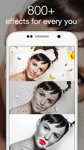 Photo Lab Picture Editor: face effects, art frames- gambar mini screenshot