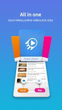 Super Player ( Video Player ) screenshot thumbnail