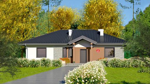 projekt Dom przy Bukowej 2
