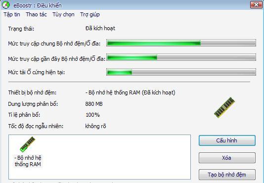 Biến USB thành bộ nhớ Ram trong windows