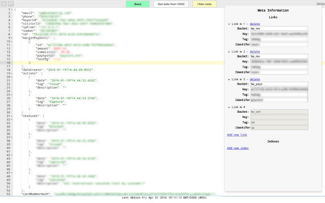 Riak JSON editor (fixed)