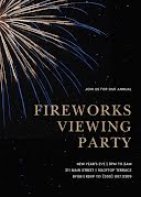 Fireworks Viewing Party - New Year's Card item