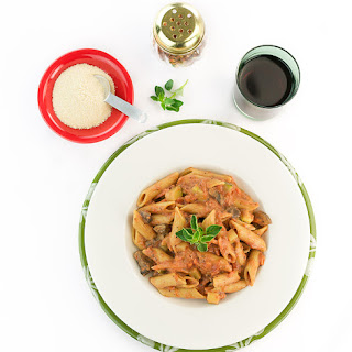 One Pot Veggie Vodka Sauce from The Easy Vegan Cookbook