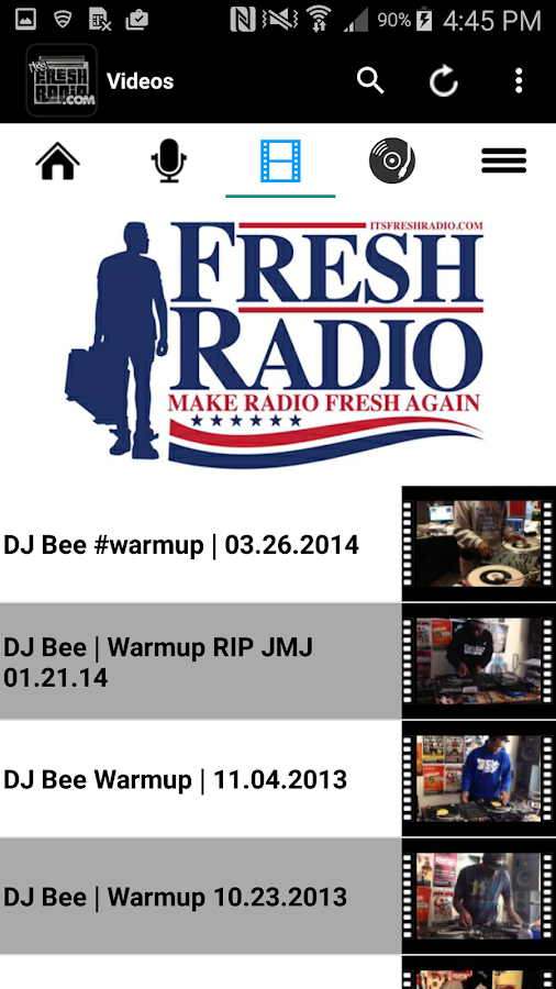 Fresh Radio - Hip-Hop and Soul- screenshot