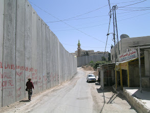 Photo: Abu Dis (Jerusalem), western side of the separation wall