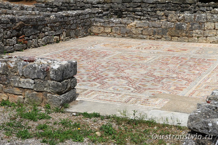 Древнее поселение Конимбрига в Португалии