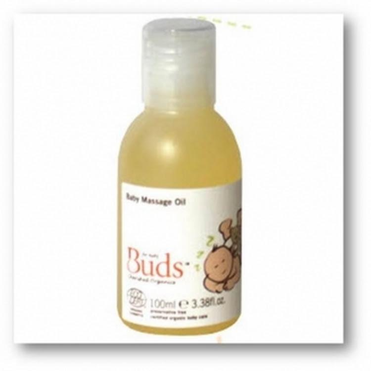 BUDS Cherished Organics - Baby Massage Oil 100g by GREEN WHEEL INTERNATIONAL SDN BHD