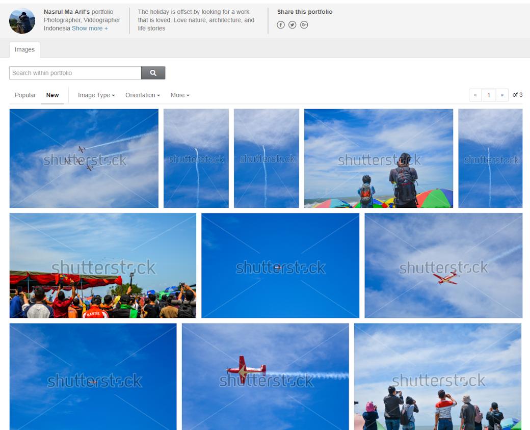 Portofolio Nasrul di Shutterstock