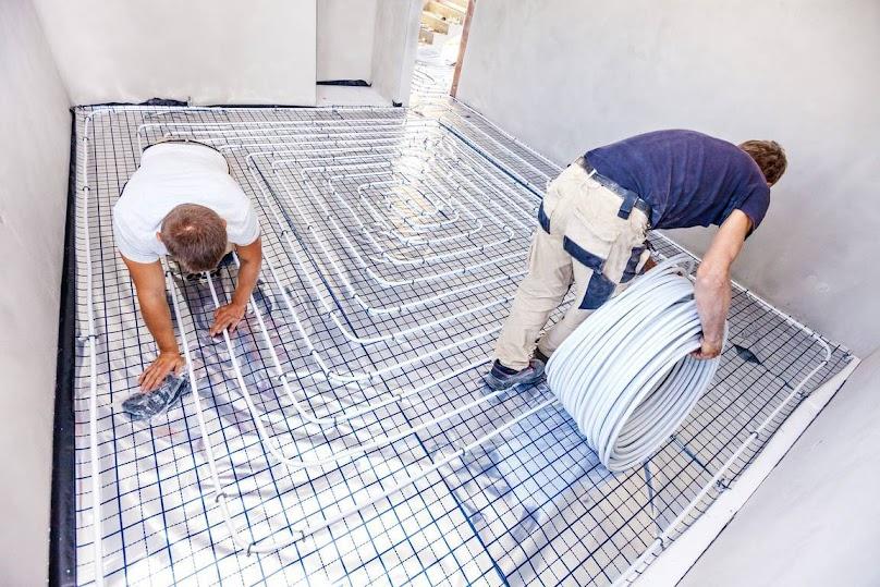 Przy instalacji wodnego ogrzewania podłogowego można popełnić wiele błędów