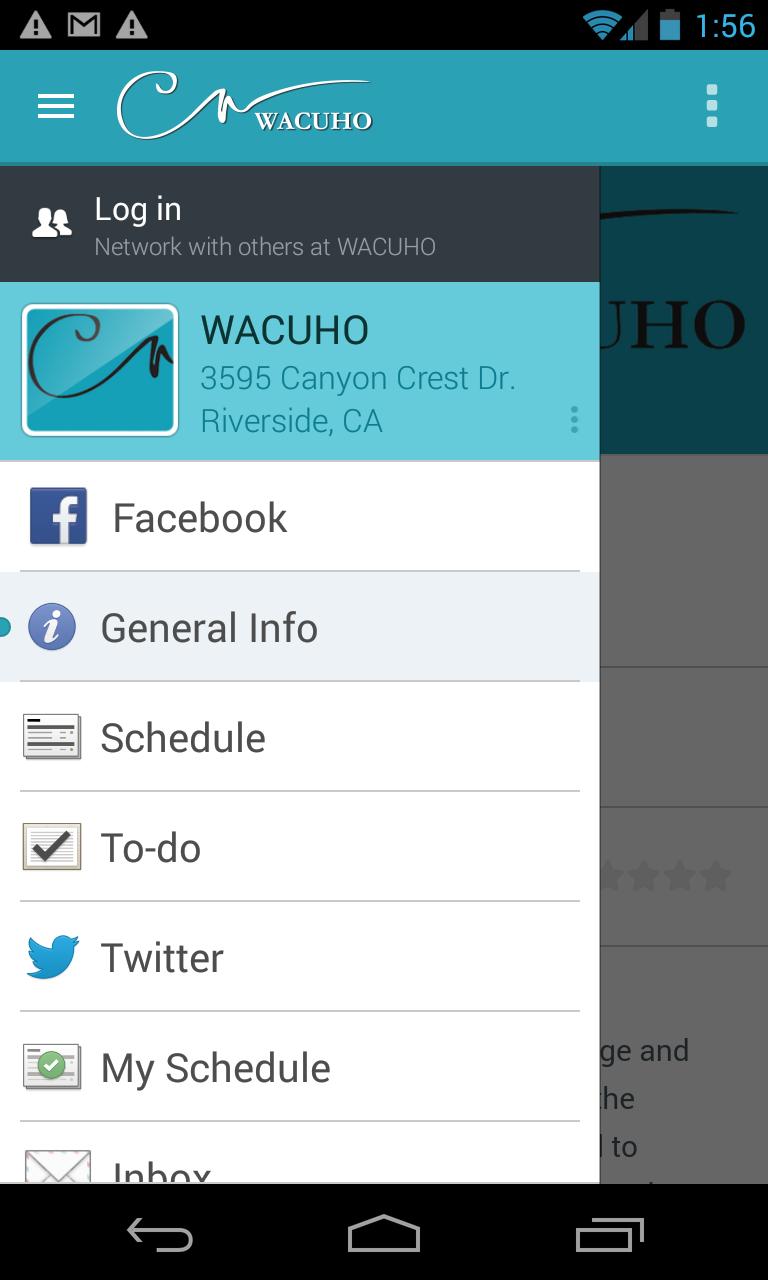 Скриншот Western Region of ACUHO-i