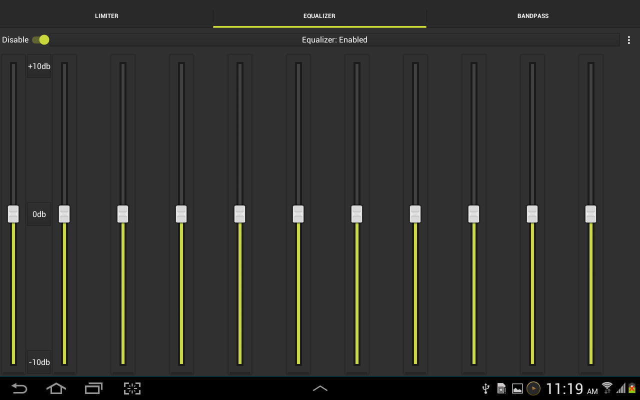 Aux Music Player(Trial)- screenshot
