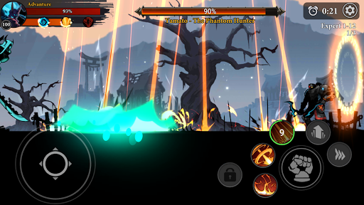 Stickman Master: League Of Shadow - Ninja Legends 1.4.7 screenshots 5