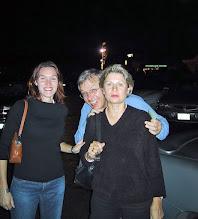 Photo: Anne, Yves, and Thérèse in Laguna Beach 11/01  XB
