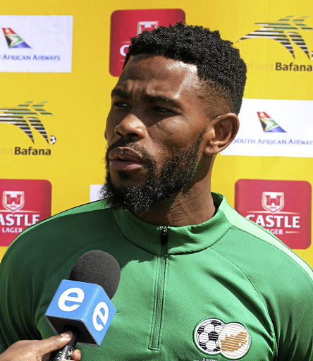 Bafana skipper Thulani Hlatshwayo wants his teammates to apply themselves in Saturday's Afcon qualifier against Libya. Picture: ANESH DEBIKY/ GALLO IMAGES