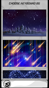 Hvězdičkové noční klávesnice - náhled