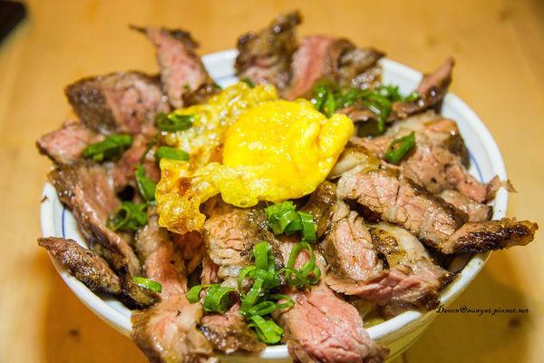 楠梓 初肉   炸裂牛排丼的肉感誘惑