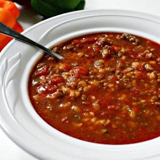 Stuffed Pepper Soup.