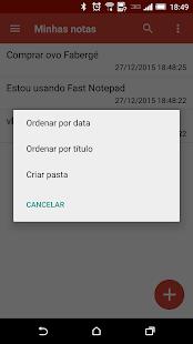 Fast Notepad imagem 4