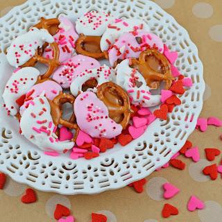 Chocolate Caramel Pretzels.