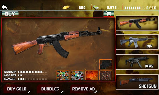 Modern Gun Shooter Sniper Killer 1.0.1 screenshots 1