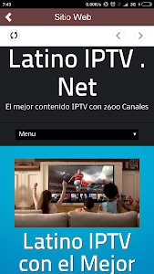 Download Latino IPTV   Net APK latest version app for android devices