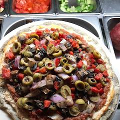 Glutenfree pizza!