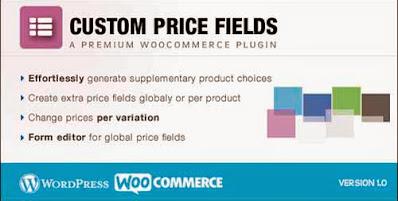 Custom Price Fields WooCommerce Plugin