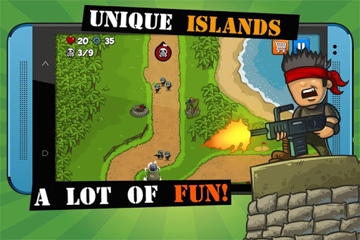 Island Defense: Offline Tower Defense 20.32.33 screenshots 5