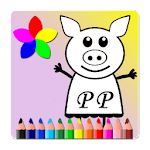 Peppe Pig Paint Book 1.0