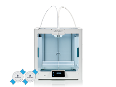 Ultimaker S5 3D Printer - 2 Year Warranty, 2 Tough PLA Spools