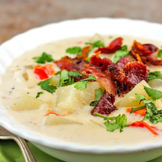 Crock Pot Potato Soup.