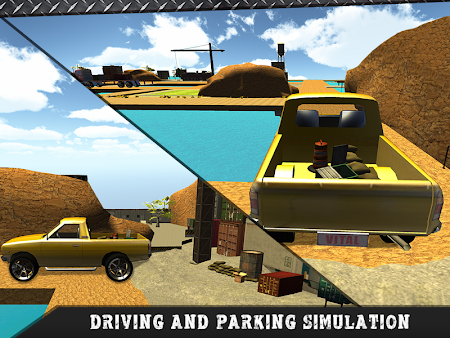 Truck Transporter Driving 3D 1.3 screenshot 70107