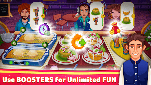 Indian Cooking Star: Chef Restaurant Cooking Games apkpoly screenshots 4