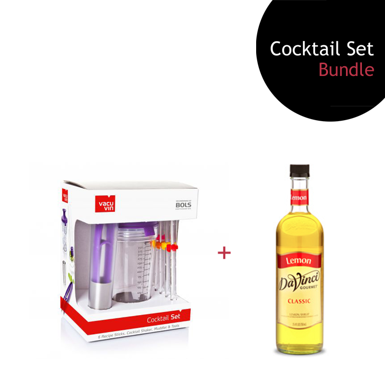 [Bundle] Cocktail Set + Lemon Syrup by ECIATTO GROUP SDN BHD