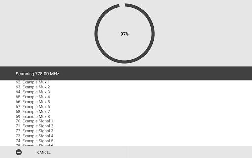 Aerial TV - DVB-T receiver 1.42 screenshots 2