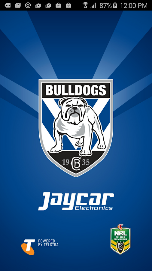 Canterbury-Bankstown Bulldogs- screenshot