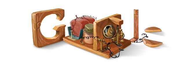 Invention de la radio par Alexandre Popov
