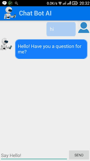 ChatBot chat with Bot AI