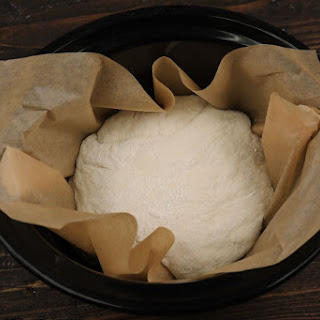 Slow Cooker No-knead Bread.