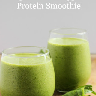 Spinach Pineapple Protein Smoothie