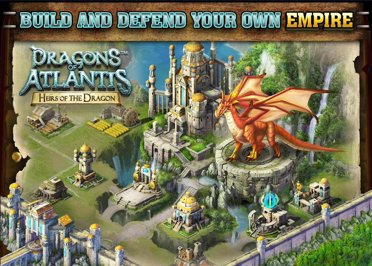 Dragons of Atlantis- screenshot