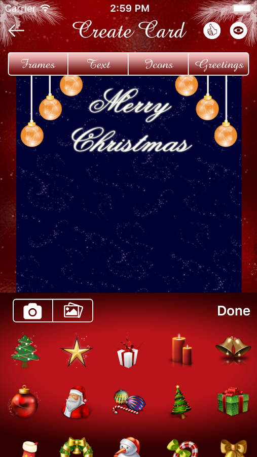 Christmas Card- screenshot