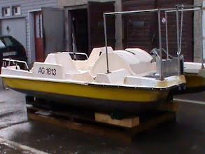 Photo: es war einmal ein Tretboot...