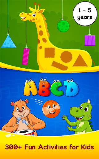 Nursery Rhymes, Kids Games, ABC Phonics, Preschool Screenshot
