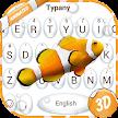 Clown Fish Theme&Emoji Keyboard APK