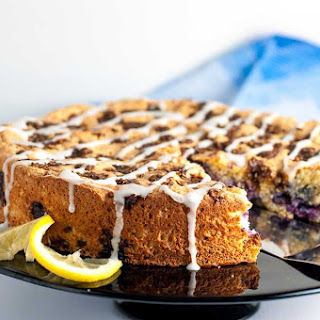 Gluten-Free Blueberry Lemon Coffee Cake.