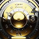 Gold Deluxe Watch Face