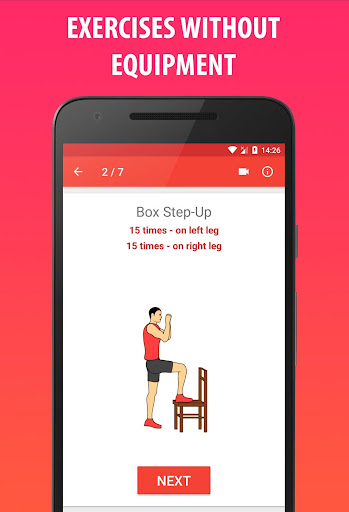 Lose Weight In 21 Days - Home Fitness Workout screenshot