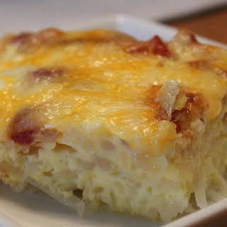 Egg and Hash Brown Pie.